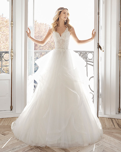 ELENI Wedding                                          dress by Aire Barcelona Bridal