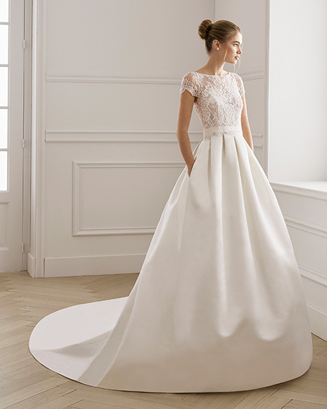 ERGOS Wedding dress by Aire Barcelona Bridal