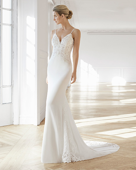 EDIL Wedding                                          dress by Aire Barcelona Bridal