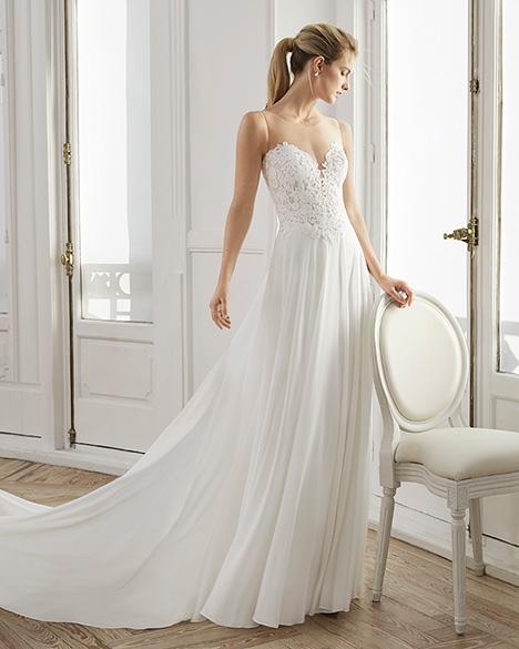 ELDUA Wedding                                          dress by Aire Barcelona Bridal
