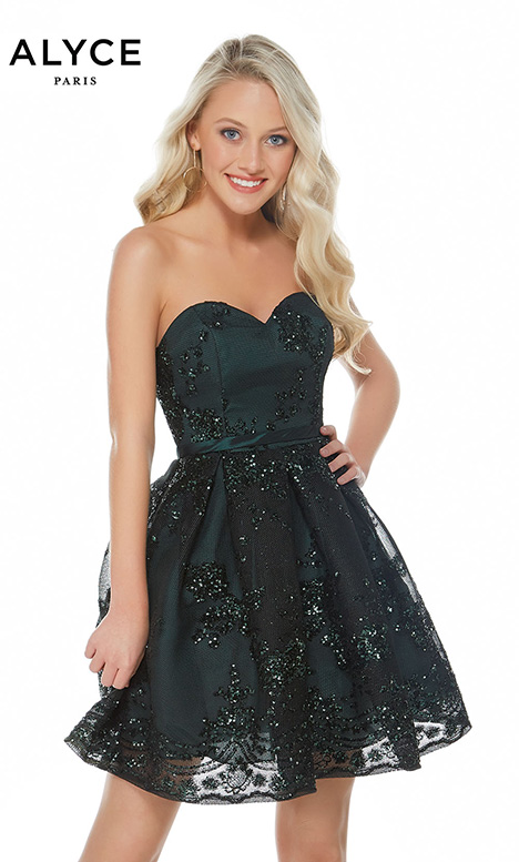 2650 (Forest) Prom                                             dress by Alyce Paris: Semi Formal