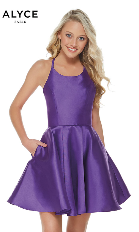 3703 (Ultraviolet) Prom                                             dress by Alyce Paris: Semi Formal