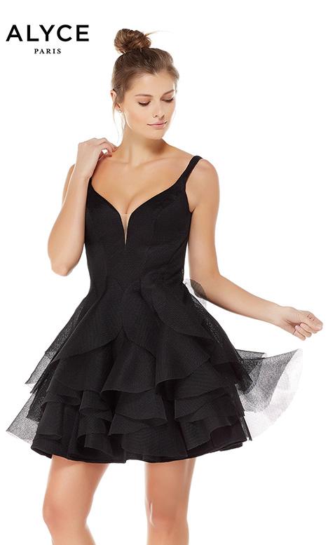 3753 Prom                                             dress by Alyce Paris: Semi Formal
