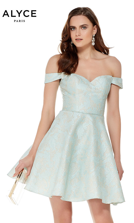 3786 Prom                                             dress by Alyce Paris: Semi Formal