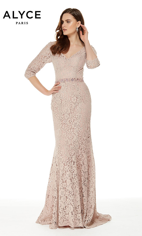 27004 (Rosewood) Mother of the Bride                              dress by Alyce Paris: JDL Collection
