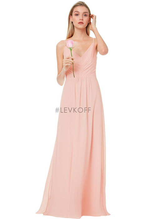 7034 Bridesmaids dress by #Levkoff Bridesmaids