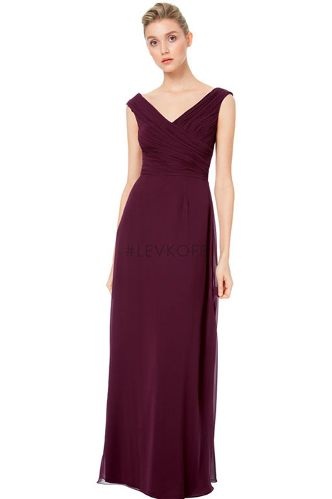 7043 Bridesmaids                                      dress by #Levkoff Bridesmaids