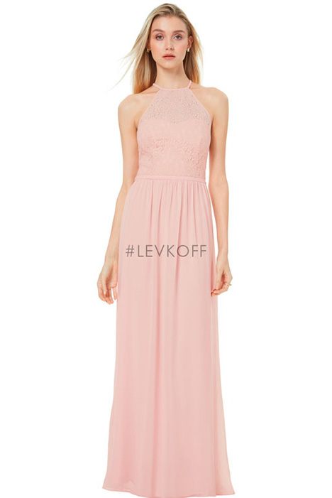 7046 Bridesmaids                                      dress by #Levkoff Bridesmaids