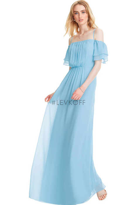 7051 Bridesmaids                                      dress by #Levkoff Bridesmaids