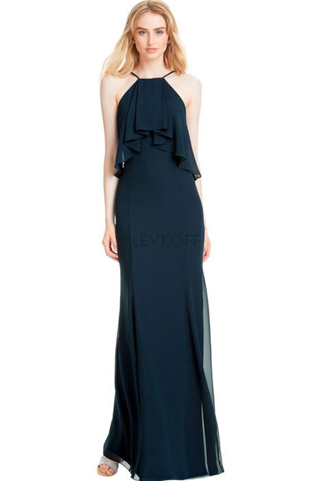 7055 Bridesmaids                                      dress by #Levkoff Bridesmaids