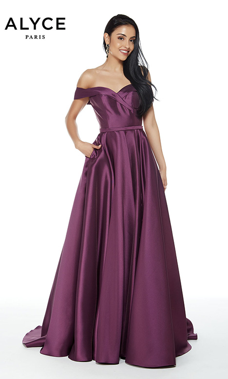 60268 Prom                                             dress by Alyce Paris