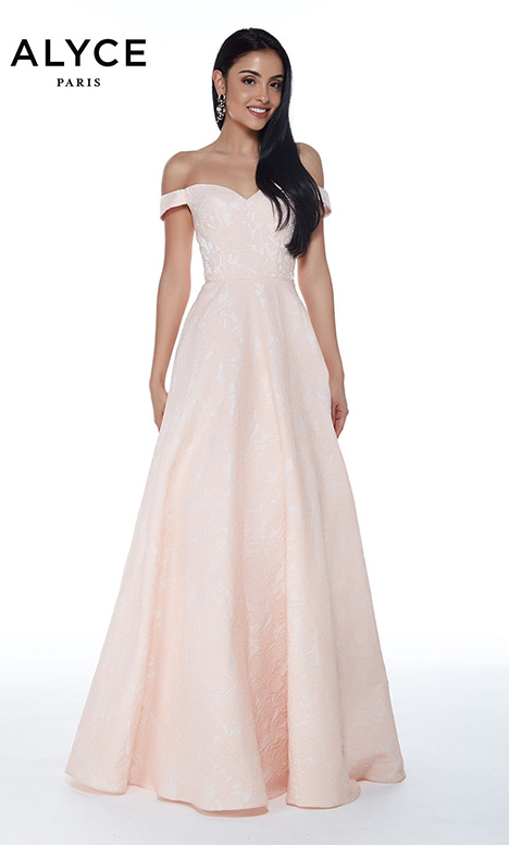 60269 Prom                                             dress by Alyce Paris