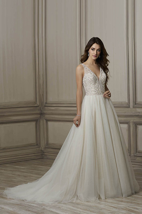 Brooke Wedding                                          dress by Adrianna Papell
