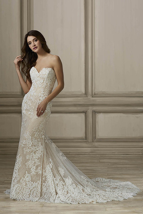 Hayden Wedding                                          dress by Adrianna Papell
