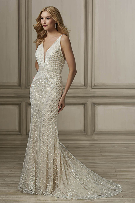 Mila Wedding                                          dress by Adrianna Papell