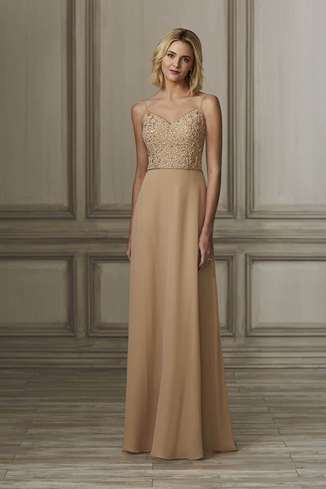 40136 Bridesmaids                                      dress by Adrianna Papell Platinum: Bridesmaids
