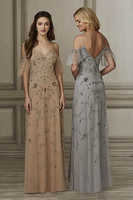 40137 Bridesmaids                                      dress by Adrianna Papell Platinum: Bridesmaids