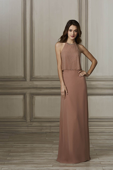 40141 Bridesmaids                                      dress by Adrianna Papell Platinum: Bridesmaids