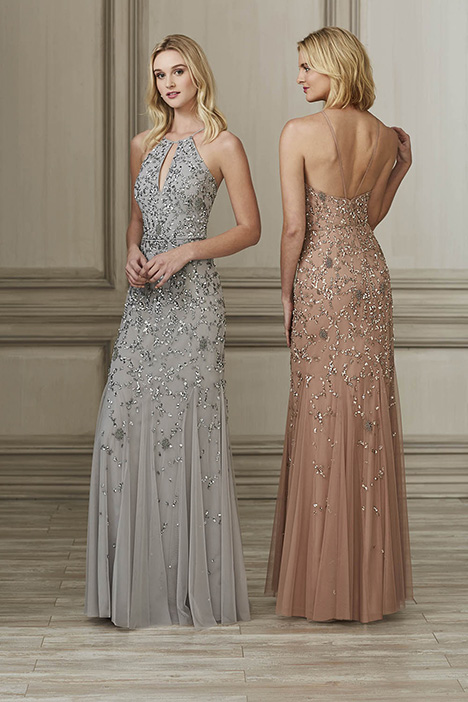 40143 Bridesmaids                                      dress by Adrianna Papell Platinum: Bridesmaids