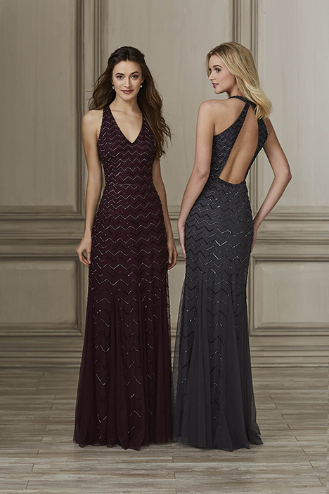 40144 Bridesmaids                                      dress by Adrianna Papell Platinum: Bridesmaids