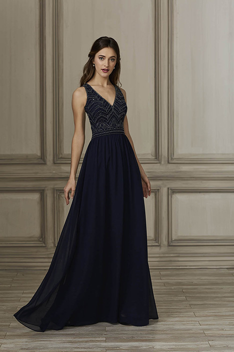40152 Bridesmaids                                      dress by Adrianna Papell Platinum: Bridesmaids