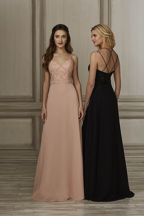 40155 Bridesmaids                                      dress by Adrianna Papell Platinum: Bridesmaids