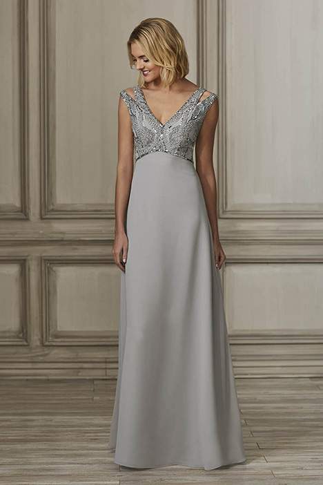 40159 Bridesmaids                                      dress by Adrianna Papell Platinum: Bridesmaids