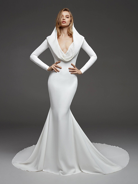 Caceres gown from the 2019 Pronovias Atelier collection, as seen on dressfinder.ca