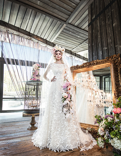 HAYLEY Wedding                                          dress by Yumi Katsura