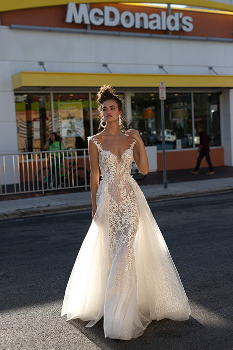 Wedding                                          dress by Berta Bridal