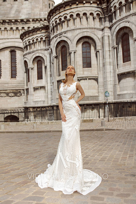 Anabel Wedding                                          dress by Victoria Soprano