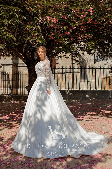 Blansh Wedding dress by Victoria Soprano