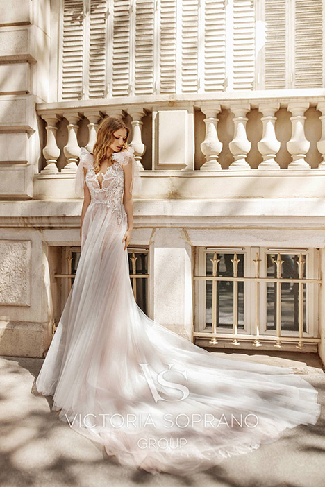 Fleur Wedding                                          dress by Victoria Soprano