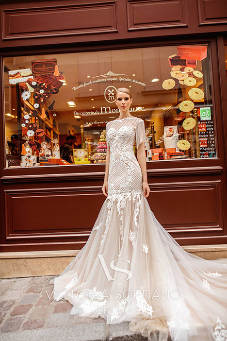Jizel Wedding                                          dress by Victoria Soprano