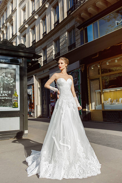 Margo Wedding                                          dress by Victoria Soprano