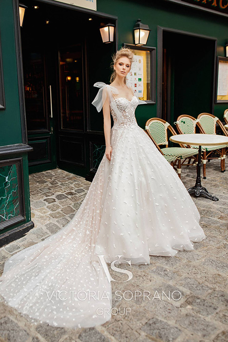 Silaine Wedding                                          dress by Victoria Soprano