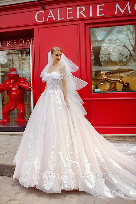 Jakline Wedding dress by Victoria Soprano