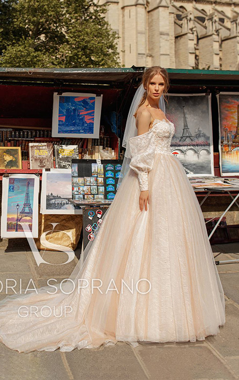 Justina Wedding dress by Victoria Soprano