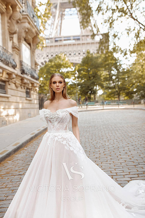 Manolo Wedding dress by Victoria Soprano