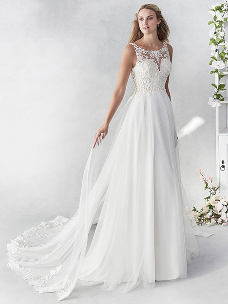 be455 Wedding                                          dress by Ella Rosa