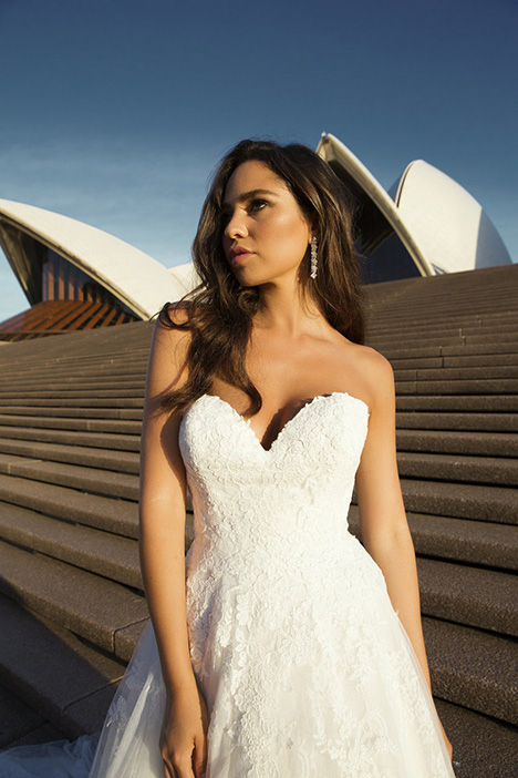M1821Z Penn Wedding                                          dress by Mia Solano