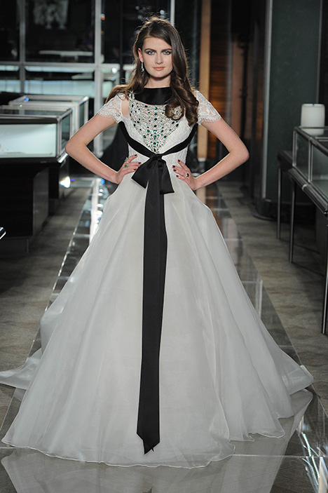 Look 2 Beautiful Wedding                                          dress by Reem Acra