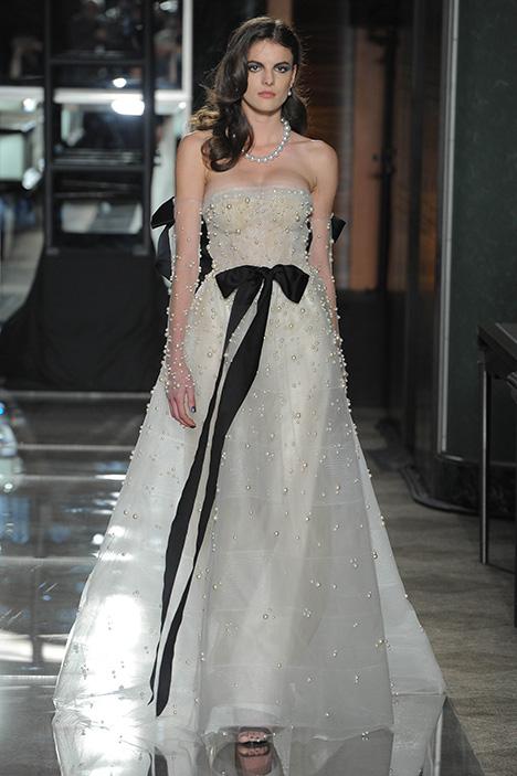 Pearl Wedding dress by Reem Acra
