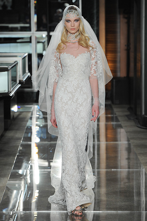 Look 11 Exquisite Wedding                                          dress by Reem Acra