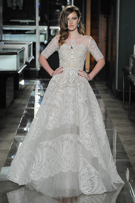 Look 13 Majestic Wedding                                          dress by Reem Acra