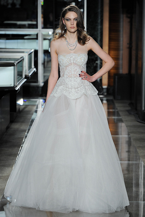Look 14 Faithful Wedding                                          dress by Reem Acra