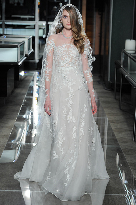 Look 15 Blossom Wedding                                          dress by Reem Acra