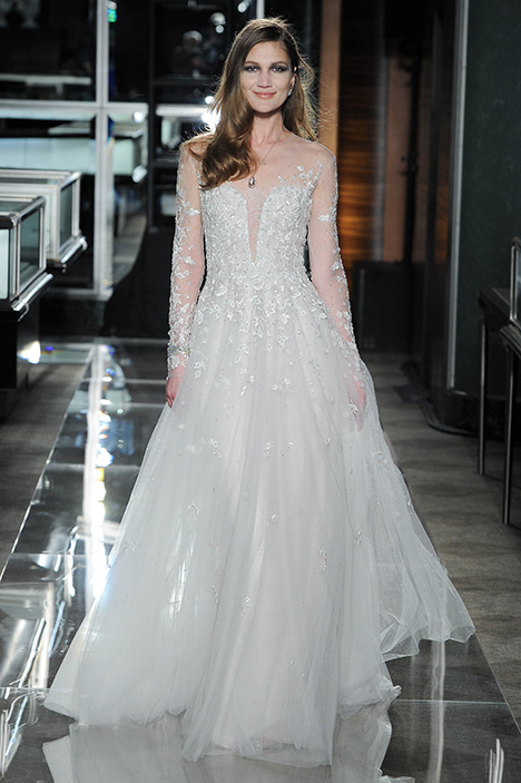 Look 16 Secret Garden Wedding                                          dress by Reem Acra