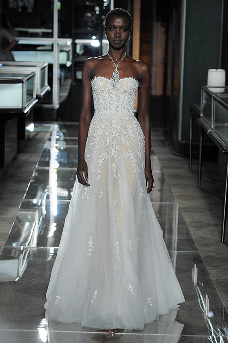 Look 17 Fleur Wedding                                          dress by Reem Acra
