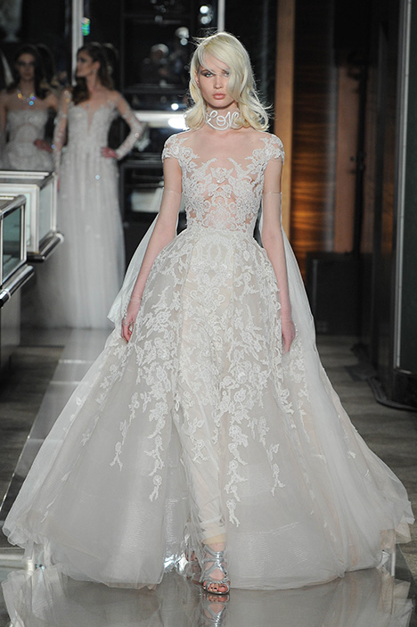 Look 19 Couture Wedding                                          dress by Reem Acra